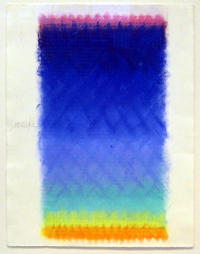 o.T. Pastell 2006 (von Rosa über Blau zu Orange)