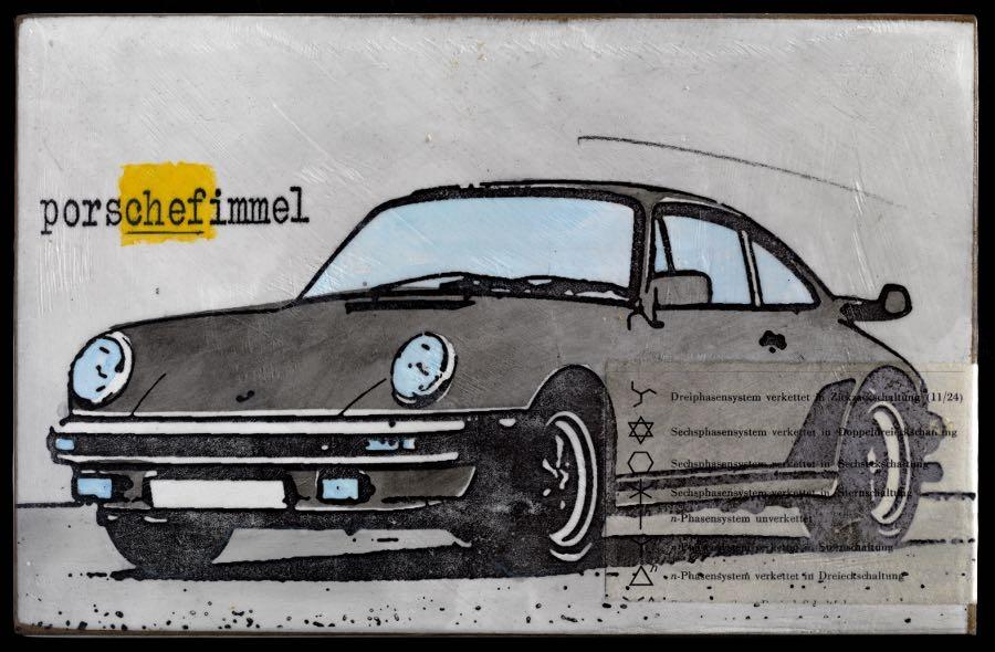 Porschefimmel - Cheffimmel grau