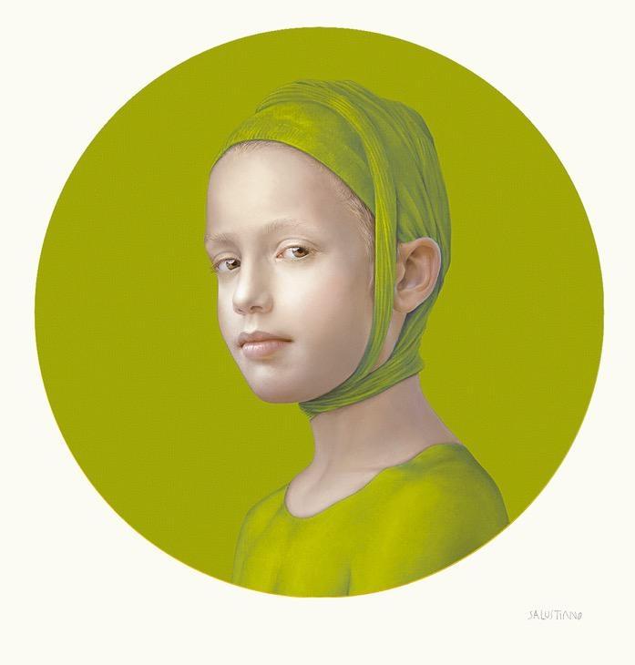 June (Green Yellow I), 2019