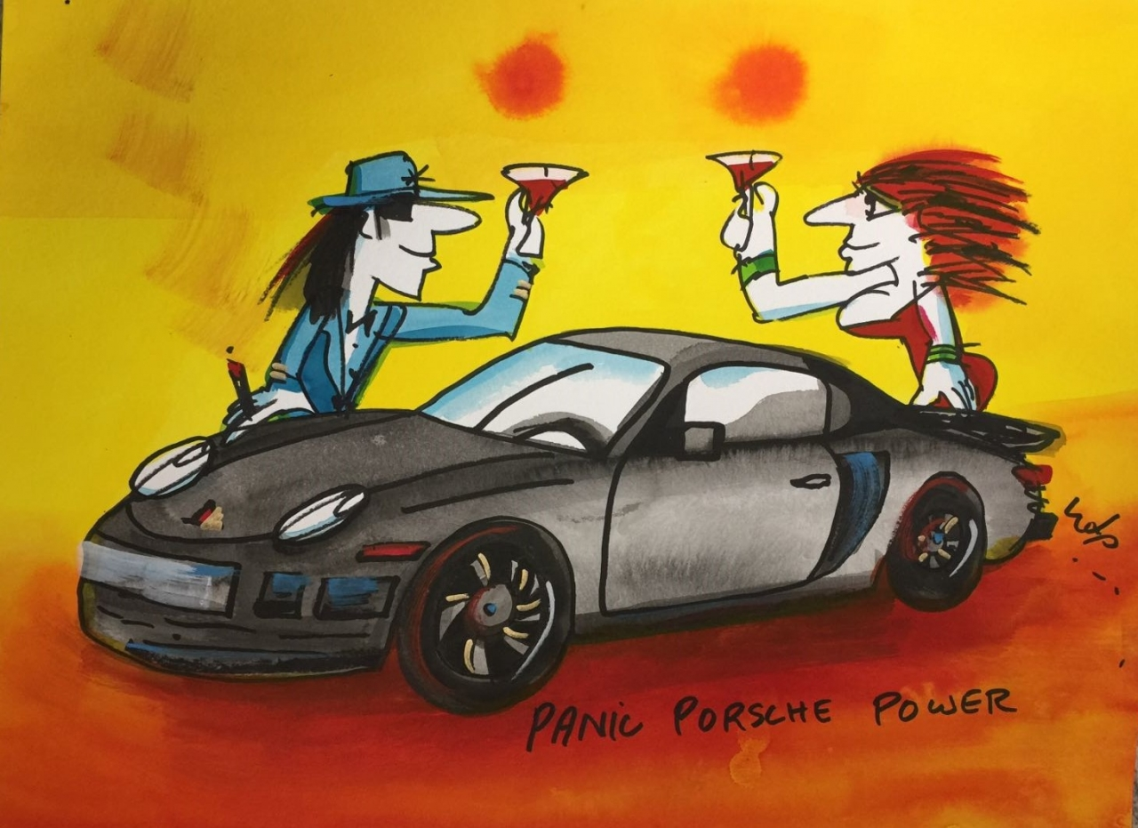 Panic Porsche Power 9