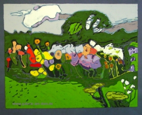 Garten am Nachmittag 1995