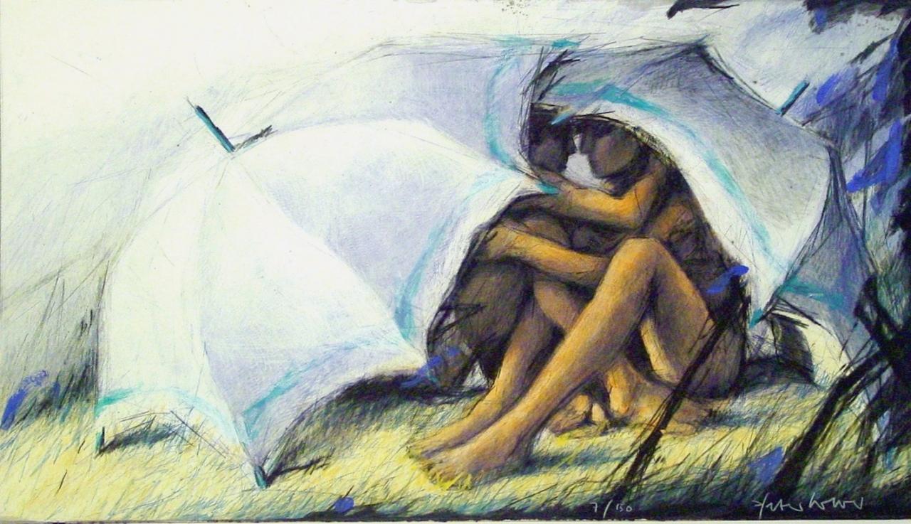 Unter Schirmen