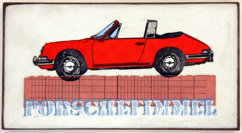 Porschefimmel Rot nach Links