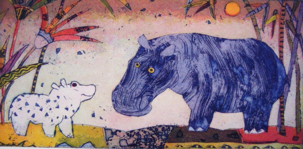 Nilpferdgespräch