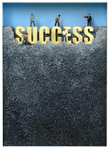 Wir bauen am Erfolg