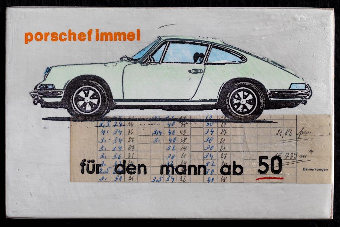 Porschefimmel - Für den Mann ab 50 - helles grün