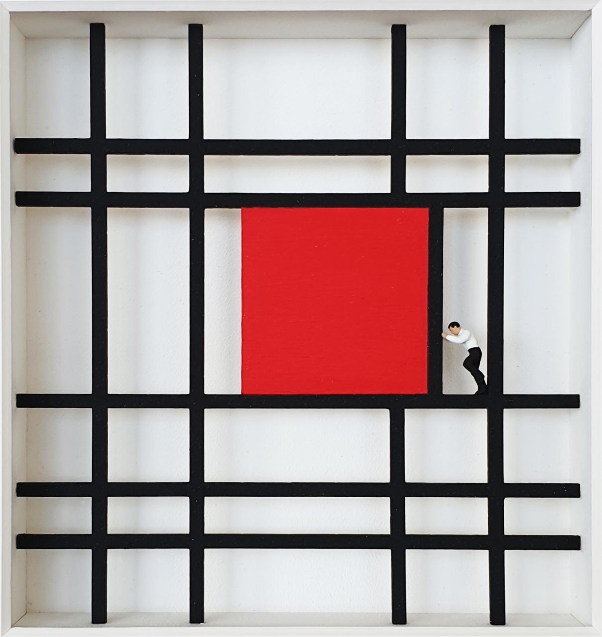Shifting - Homage à Mondrian