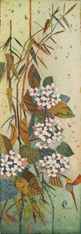 Naschender Kolibri
