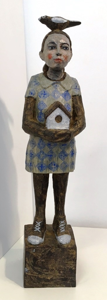 Vogelfrau Bronze 4/9