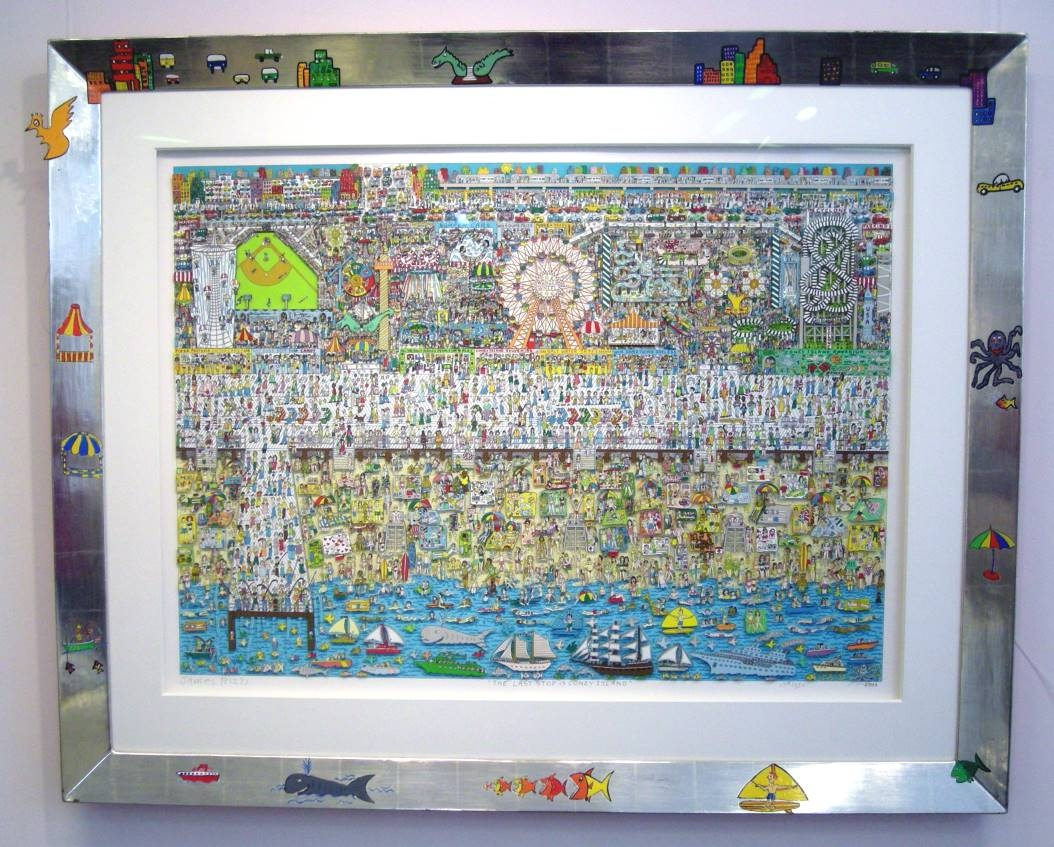 The Last Stop is Coney Island, im Vergolderrahmen II