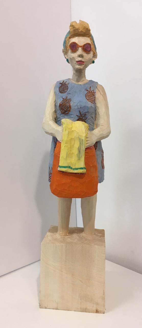 Edeka Frau mit Handtuch (1171)