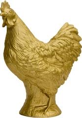 Huhn - gold