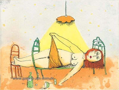 Frau Lühlein trank 1 Glas Burgunder