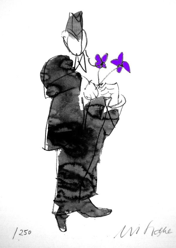 Alles Gute - violett