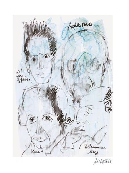 Adorno, Wittgenstein, Kant, Blumenberg