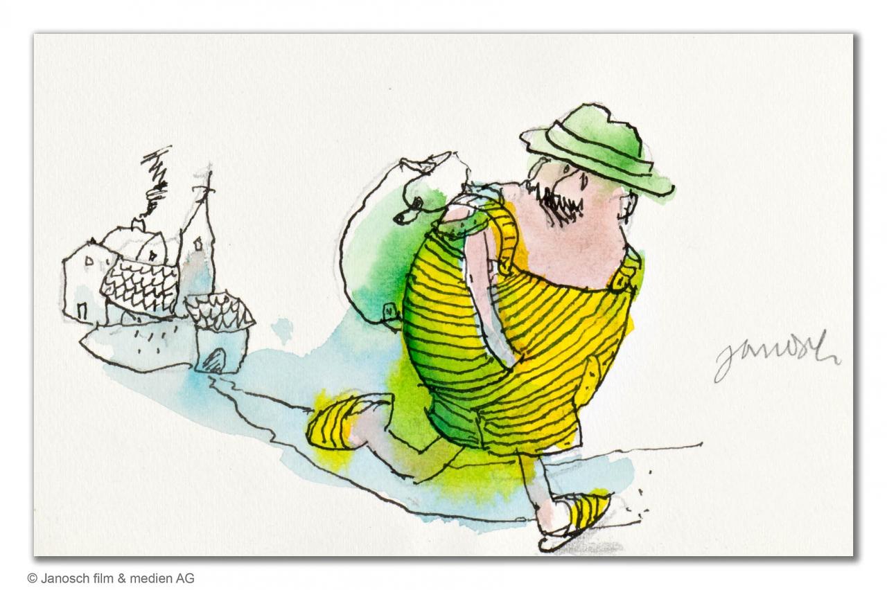 Herr Wondrak geht wandern