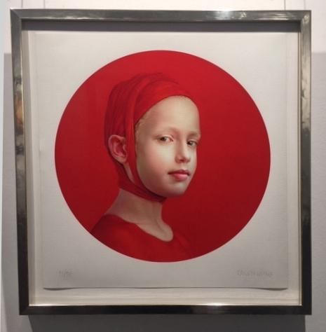 June (Red II), 2019 - gerahmt