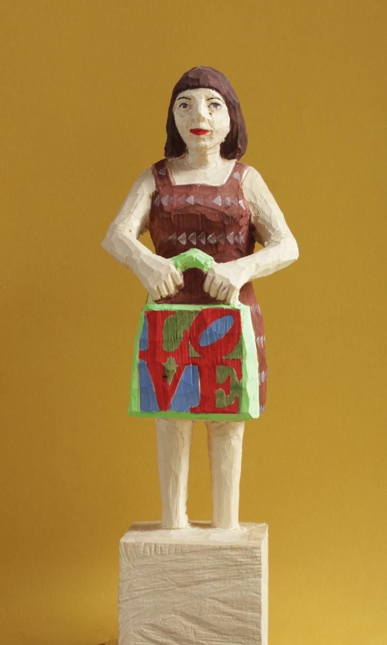 Edekafrau (1005) Pop Art