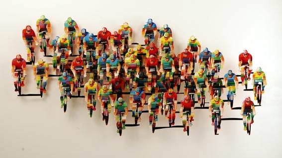 Tour de France horizontal