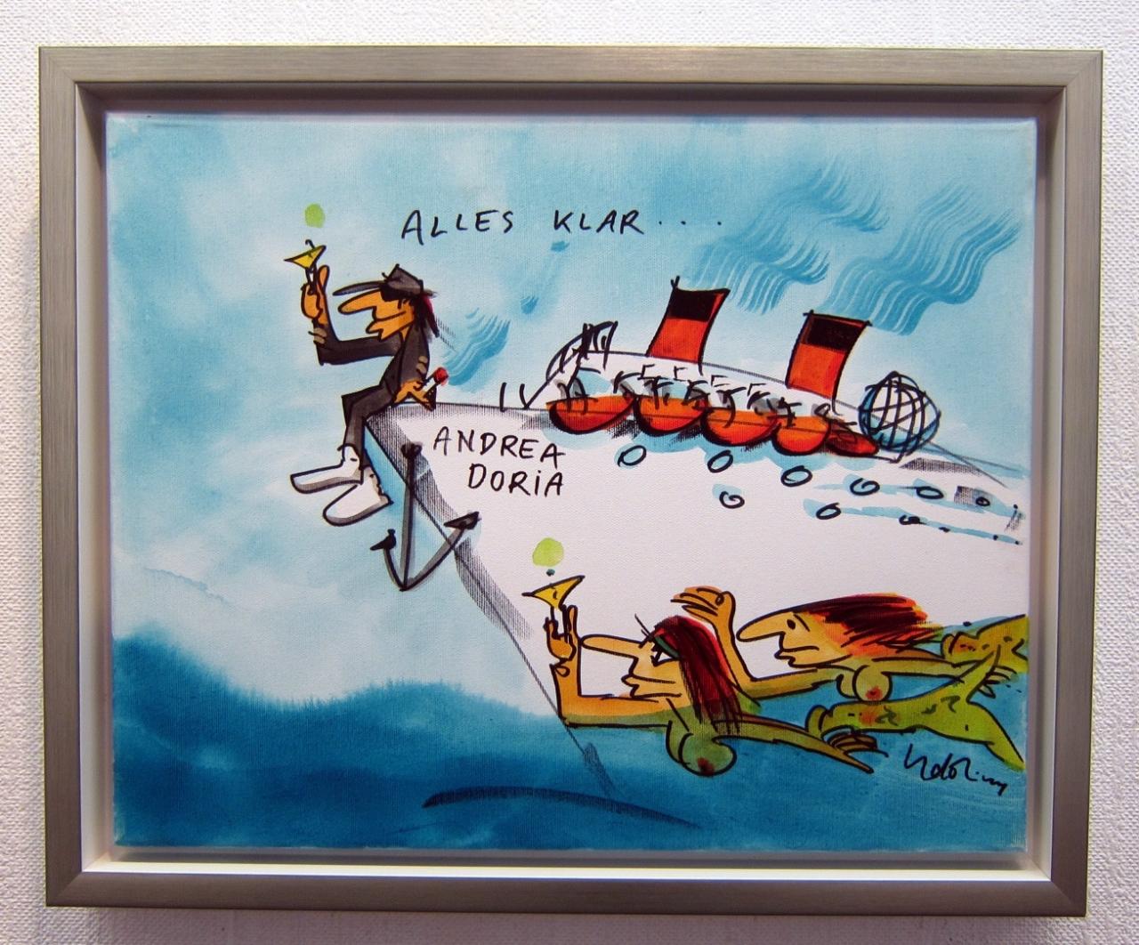 Andrea Doria 13 auf Leinwand