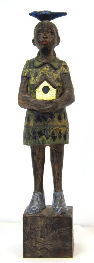 Vogelfrau Bronze 7/9