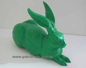 Dürers Hase - grün, signiert