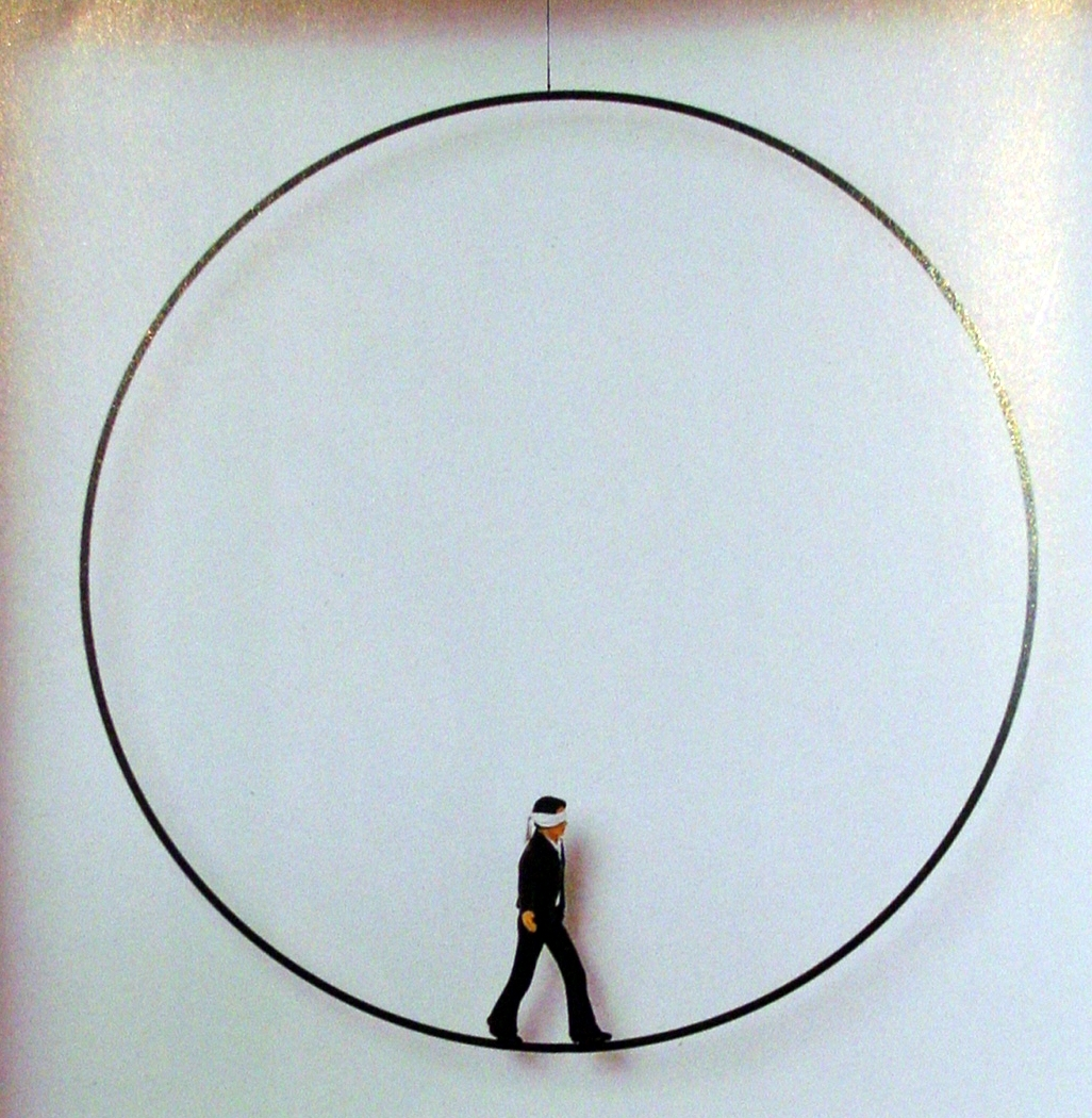 Der Mann im Kreis