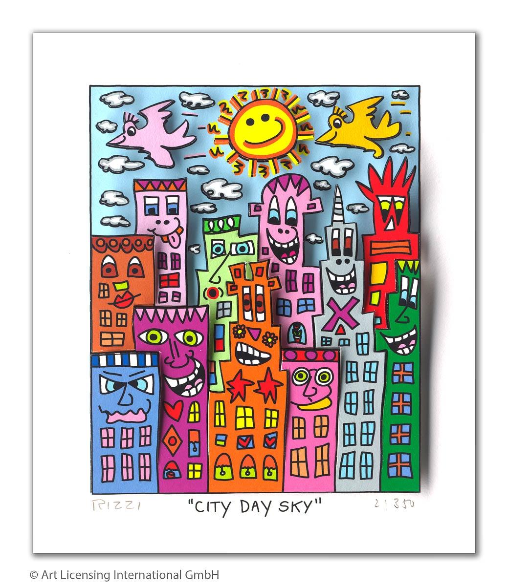City Day Sky