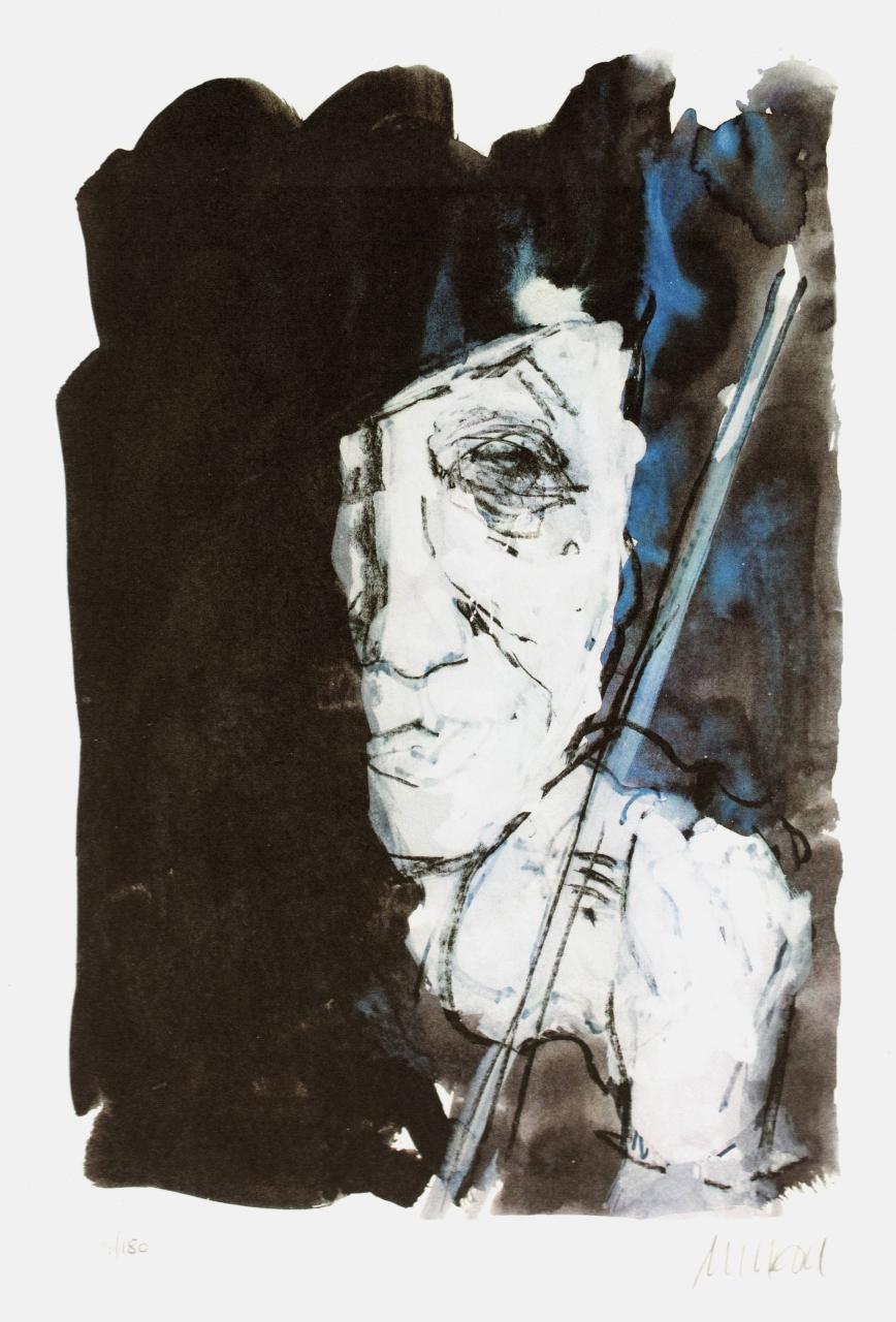 Selbst mit Geige