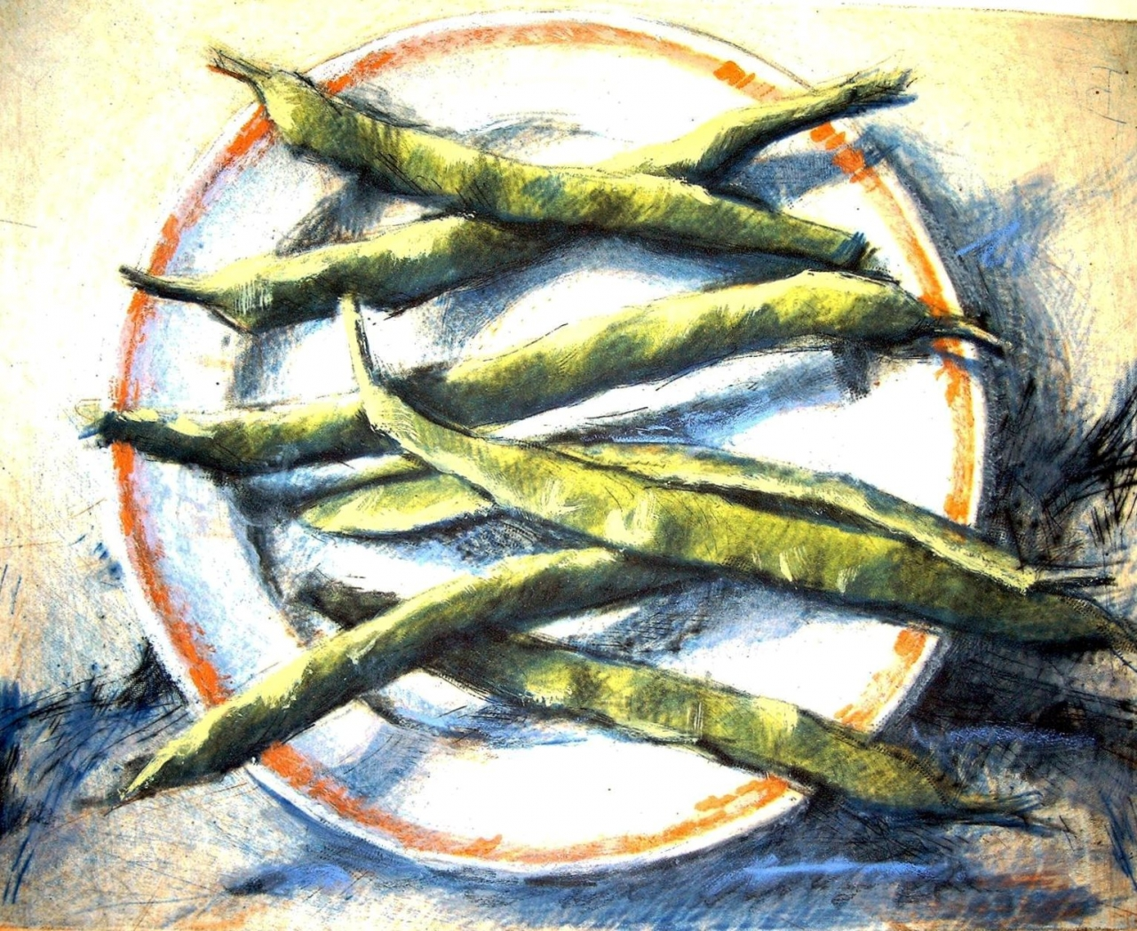 Küche - Bohnen