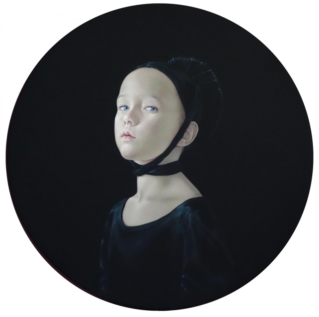o.T. (black painting) 2015