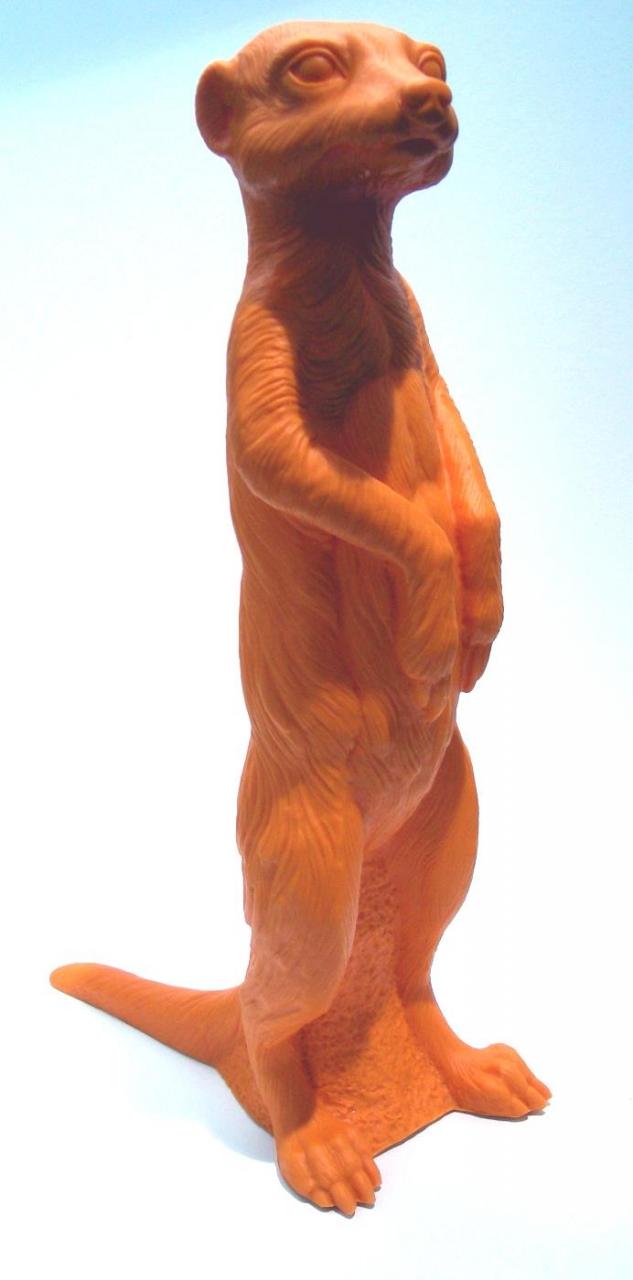 Erdmännchen - orange, signiert