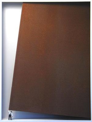 Homage to Richard Serra - Ein großer Kraftakt