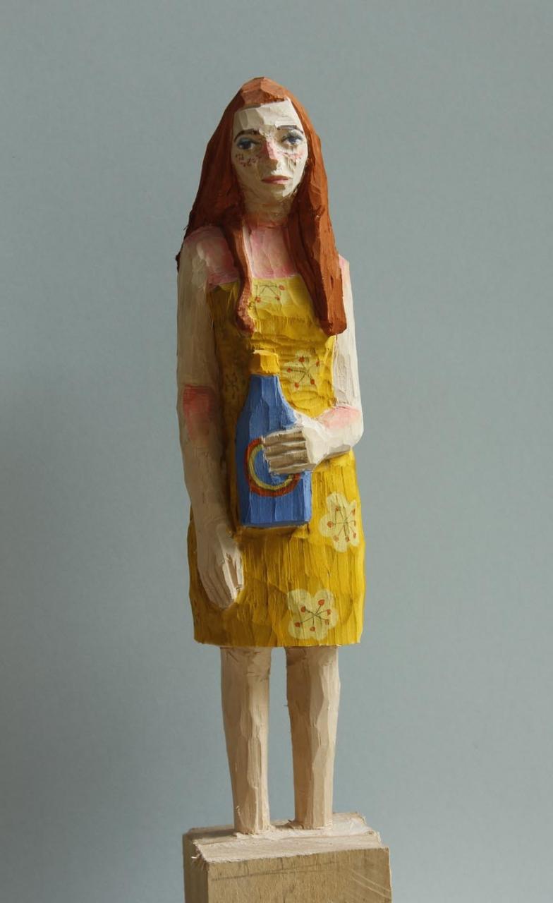 Edeka Frau (826) mit Sonnenbrand