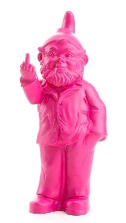 Sponti-Zwerg - pink, signiert