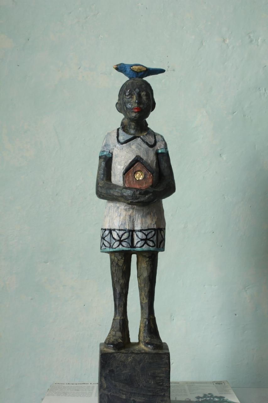 Vogelfrau Bronze EA 2/3