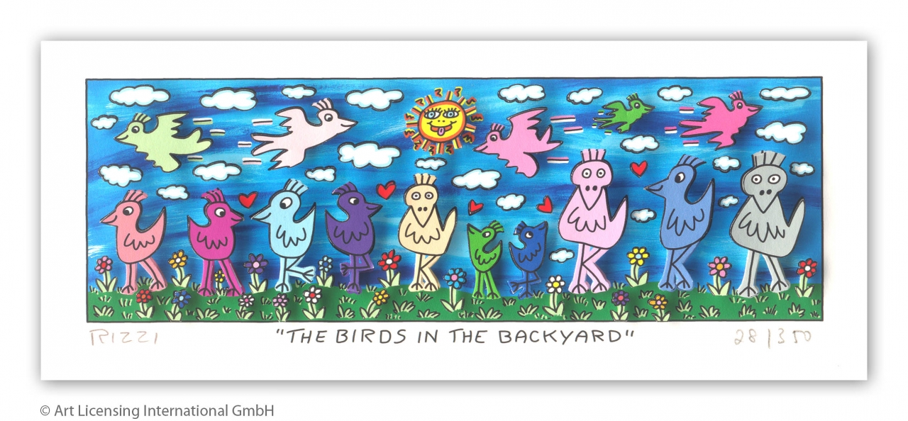 The Birds In the Back Yard