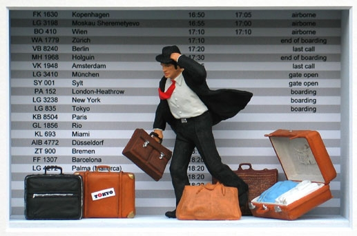 Das Leben aus Koffern