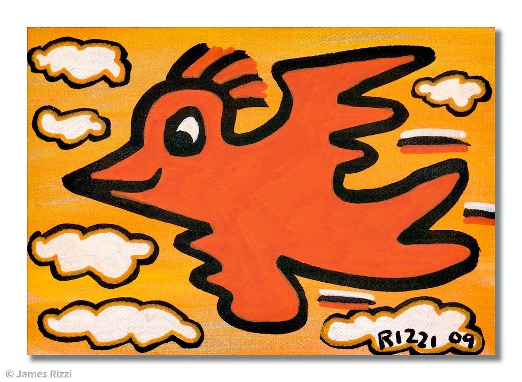 Rizzi Bird flying high 2009