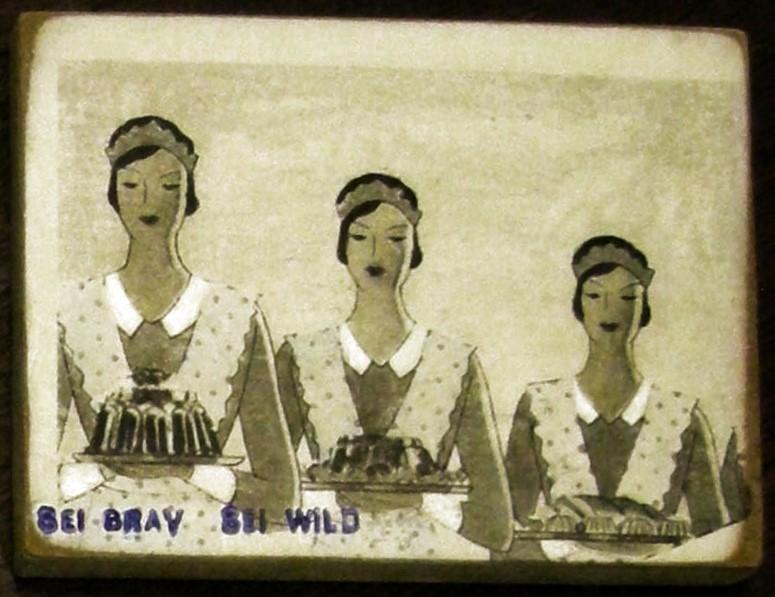 Sei brav - Sei wild (Bäckerin)
