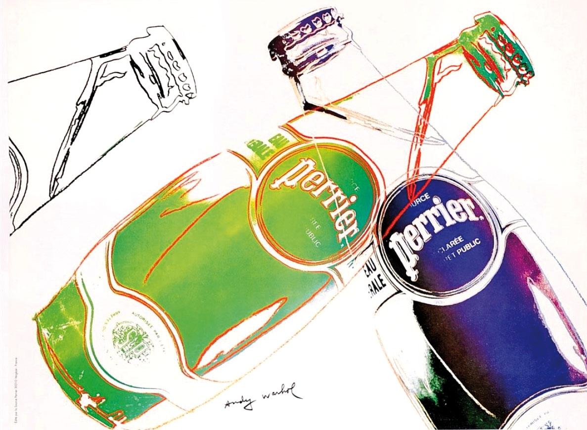 Andy Warhol: Perrier
