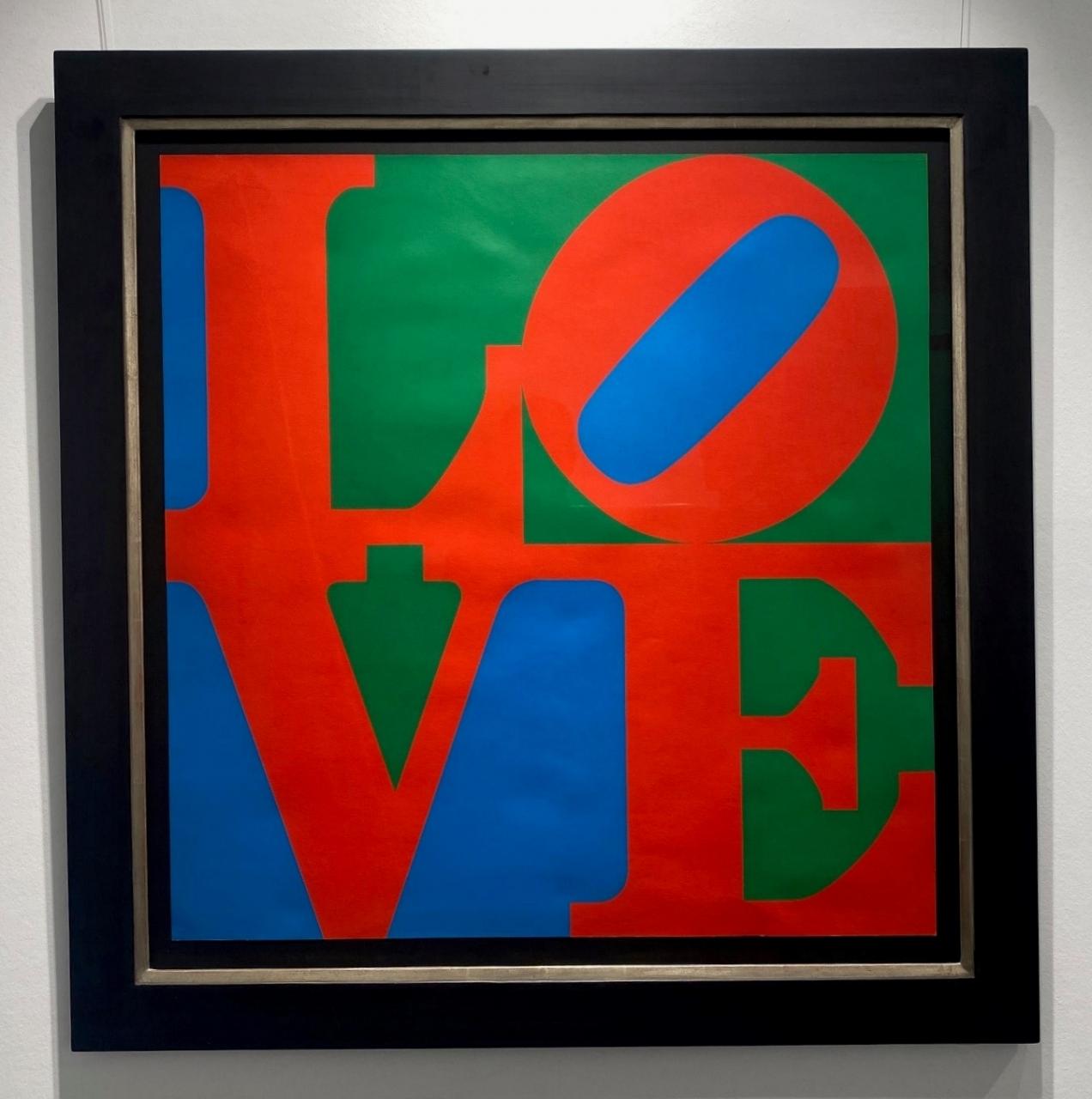 Love 1967 - gerahmt