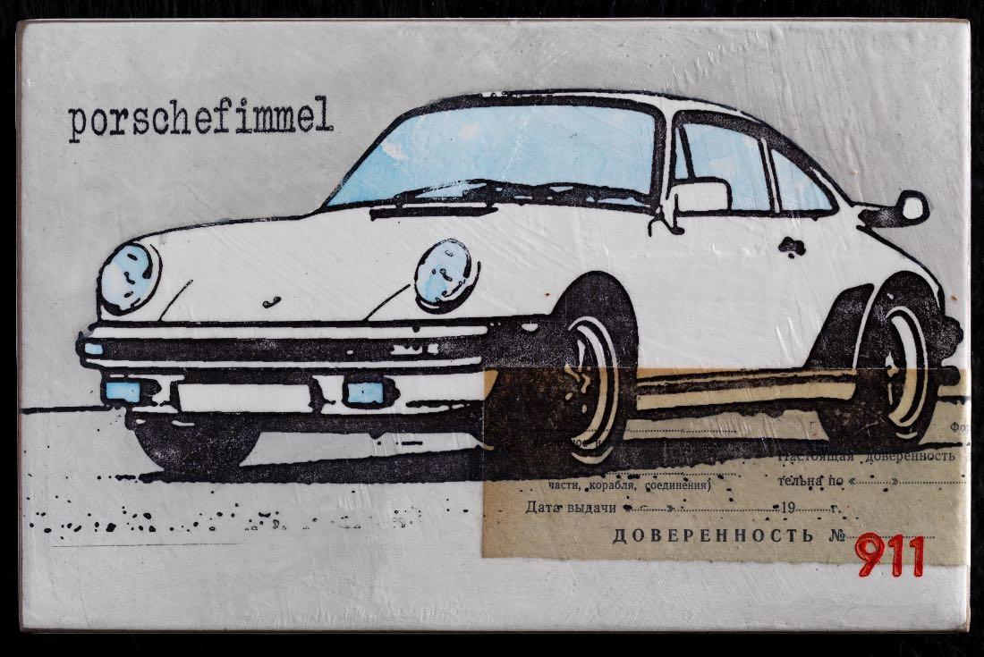 Porschefimmel - Vollmacht 911 weiß