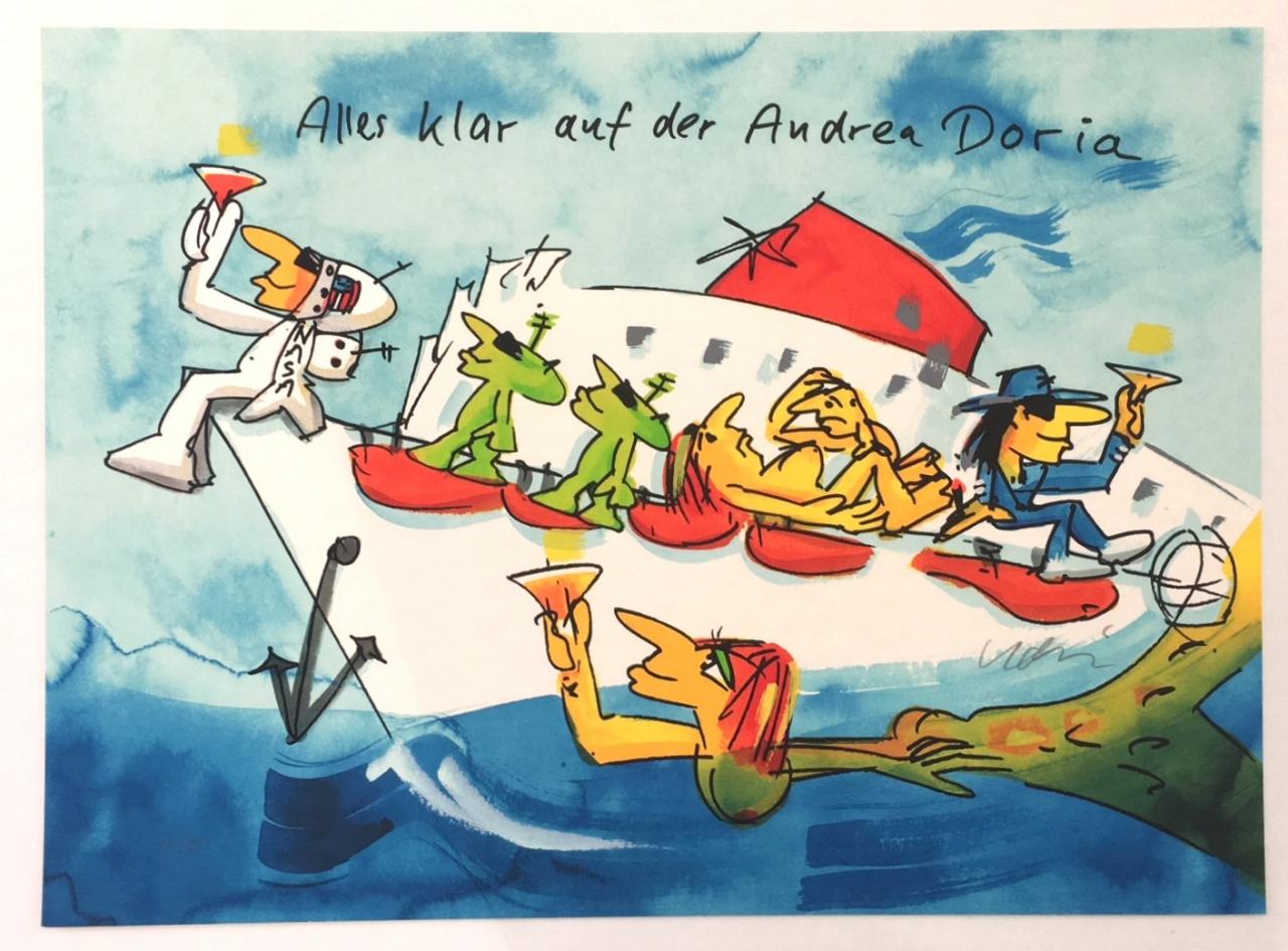 Alles klar auf der Andrea Doria - Grafik 2018