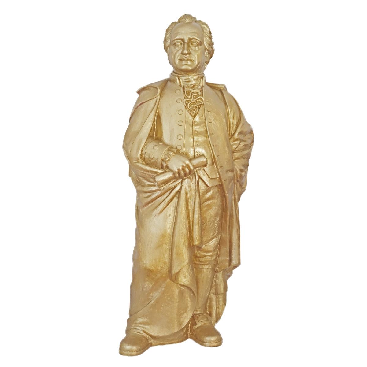 Goethe 2014 - gold, signiert