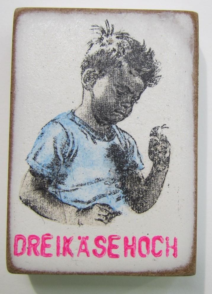Dreikäsehoch (Magnet)