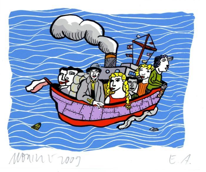 Literarische Seereise