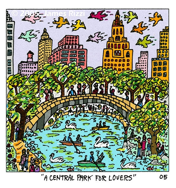 A Central Park for lovers
