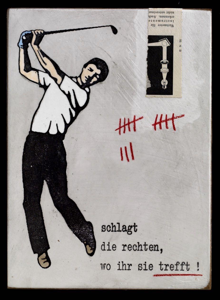 Schlagt die Rechten - Golf