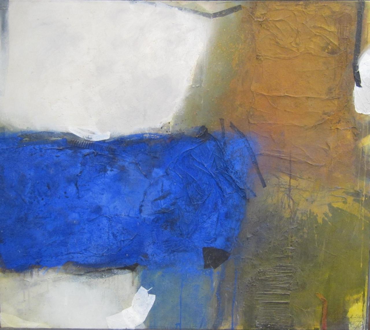 o.T. (abstrakte Komposition) 140 x 160